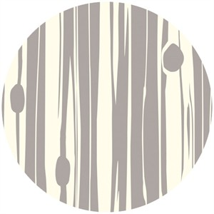 Jay-Cyn Designs for Birch Fabrics, Mod Basics 2, Organic, Knotty Bois Shroom