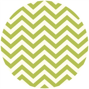 Jay-Cyn Designs for Birch Fabrics, Mod Basics 2, Organic, Skinny Chevron Grass
