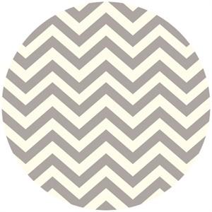 Jay-Cyn Designs for Birch Fabrics, Mod Basics 2, Organic, Skinny Chevron Shroom