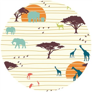 Jay-Cyn Designs for Birch Fabrics, Serengeti, KNIT, The Plains
