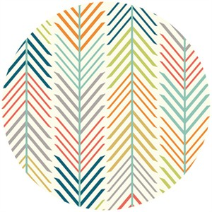 Jay-Cyn Designs for Birch Fabrics, Serengeti, KNIT, Quills Cream