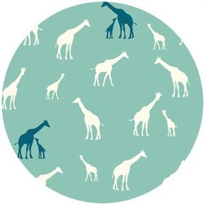 Jay-Cyn Designs for Birch Fabrics, Serengeti, KNIT, Giraffe Fam Pool
