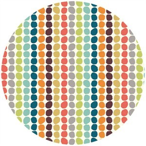 Jay-Cyn Designs for Birch Fabrics, Serengeti, CANVAS, Pebble Stripe Multi