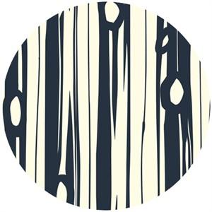 Jay-Cyn Designs for Birch Organic Fabrics, Bear Camp, KNIT, Bear Bois Dusk