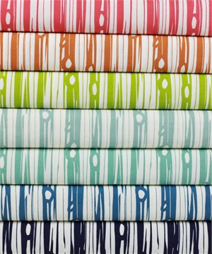 Jay-Cyn Designs for Birch Organic Fabrics, Bear Camp, Bois Sampler COLLECTION in FAT QUARTERS 6 Total