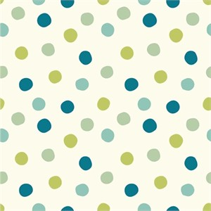 Birch Organic Fabrics, Mod Basics 3, Pop Dots Boy