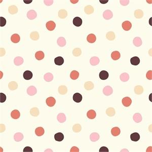Birch Organic Fabrics, Mod Basics 3, Pop Dots Girl