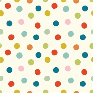 Birch Organic Fabrics, Mod Basics 3, Pop Dots Multi