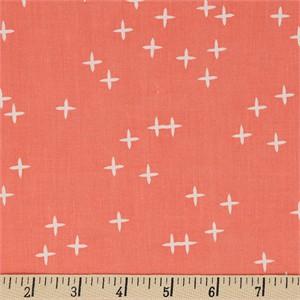 Birch Organic Fabrics, Mod Basics 3, Wink Coral