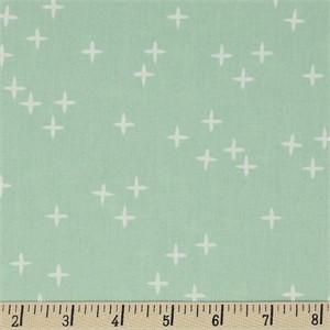 Birch Organic Fabrics, Mod Basics 3, Wink Mint