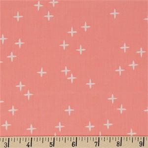 Birch Organic Fabrics, Mod Basics 3, Wink Pink