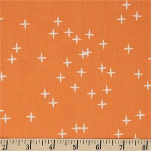 Birch Organic Fabrics, Mod Basics 3, Wink Orange