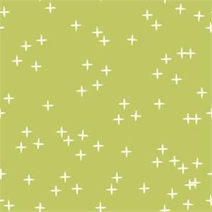 Birch Organic Fabrics, Mod Basics 3, KNIT, Wink Grass