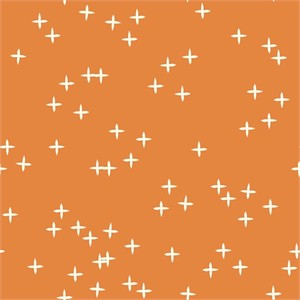 Birch Organic Fabrics, Mod Basics 3, KNIT, Wink Orange