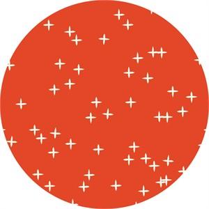 Birch Organic Fabrics, Mod Basics 3, KNIT, Wink Tomato