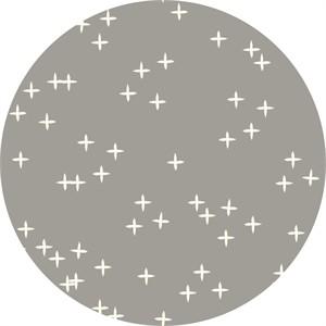 Birch Organic Fabrics, Mod Basics 3, DOUBLE GAUZE, Wink Shroom