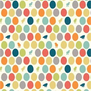 Jay-Cyn Designs for Birch Organic Fabrics, Farm Fresh, Hatched