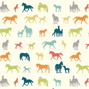 Jay-Cyn Designs for Birch Organic Fabrics, Farm Fresh, The Champion Multi