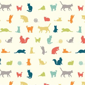 Jay-Cyn Designs for Birch Organic Fabrics, Farm Fresh, The Chase Multi