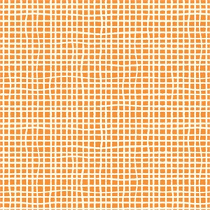 Jay-Cyn Designs for Birch Organic Fabrics, Farm Fresh, Woven Orange