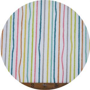 Jay-Cyn Designs for Birch Organic Fabrics, Farm Fresh, Yarn Stripe Multi