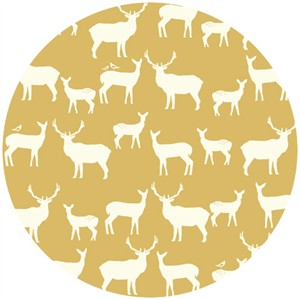 Jay-Cyn Designs for Birch Organic Fabrics, Elk Grove, KNIT, Elk Fam Sun