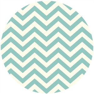 Jay-Cyn Designs for Birch Organic Fabrics, Elk Grove KNIT, Skinny Chevron Pool