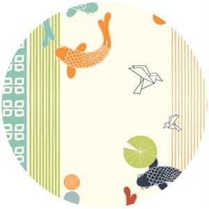 Jay-Cyn Designs for Birch Organic Fabrics, Eiko, Eiko Poster