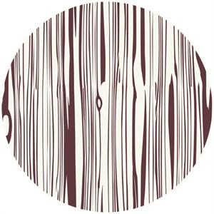 Jay-Cyn Designs for Birch Organic Fabrics, Camp Modern, Fois Bois Mahogany