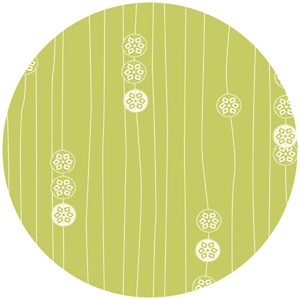 Jay-Cyn Designs for Birch Organic Fabrics, Eiko, Stamp Stripe Grass