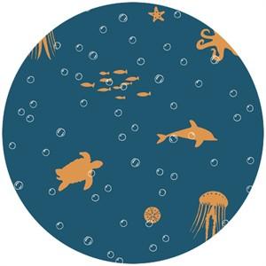 Jay-Cyn Designs for Birch Organic Fabrics, Beyond the Sea, Bubble Brigade
