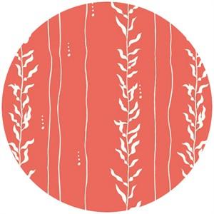 Jay-Cyn Designs for Birch Organic Fabrics, Beyond the Sea, Kelp Coral