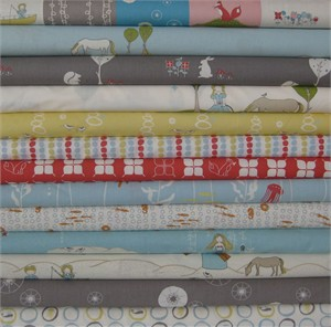 Jay-Cyn Designs, Organic, Storyboek II in FAT QUARTERS, 12 Total