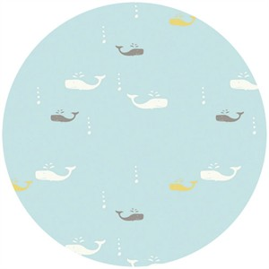 Jay-Cyn Designs Storyboek for Birch Fabrics Whale Watch Sky