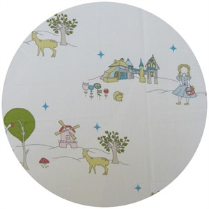 Jay-Cyn Designs Storyboek for Birch Fabrics Field Stroll Main Cream
