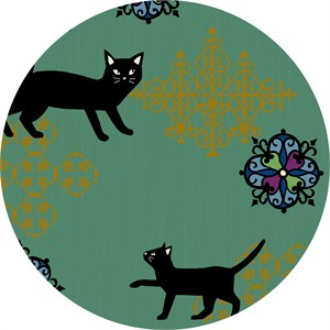 Japanese Import, Neko II, Fancy Cat Bluish Metallic