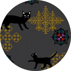Japanese Import, Neko II, Fancy Cat Coal Metallic