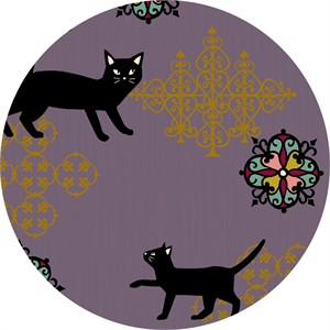 Japanese Import, Neko II, Fancy Cat Purple Metallic