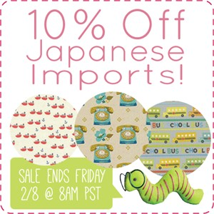Japanese Import Sale! (For A Limited Time)
