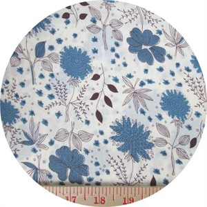 Japanese Import, Simple Garden Blue