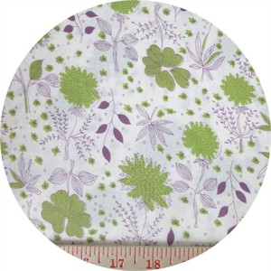Japanese Import, Simple Garden Green