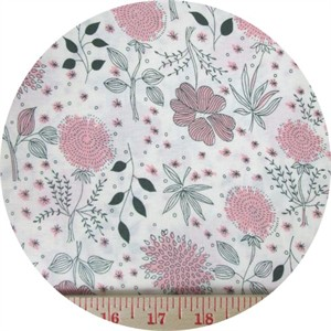 Japanese Import, Simple Garden Pink