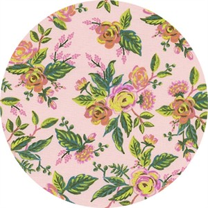 AVAILABLE FOR PREORDER, Rifle Paper Co. for Cotton and Steel, Menagerie, Jardin De Paris Peony