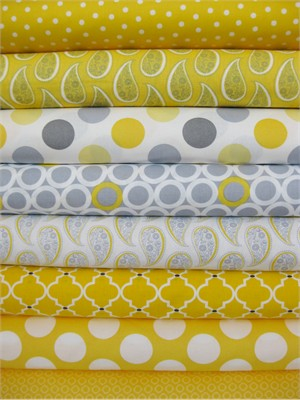 Jaqueline Savage McFee, Gray Matters, Sunshine in FAT QUARTERS 7 Total