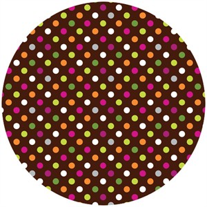 Jaqueline Savage McFee, Hand Picked, Multi Dots Brown
