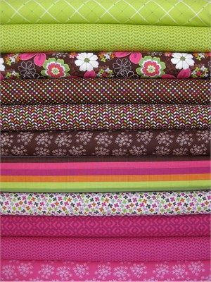 Jaqueline Savage McFee, Hand Picked in FAT QUARTERS 11 Total