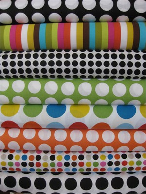 Jackie Shapiro, Multidot in FAT QUARTERS, 8 Total