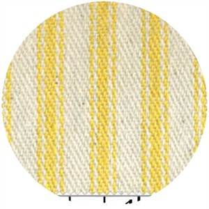 James Thompson, Ticking Woven Stripes, Sun Yellow