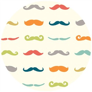 Jay Cyn Designs for Birch Organic Fabrics, Just For Fun, KNIT, Staches Multi