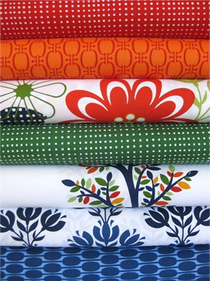 Jason Yenter, Bloom Modern, Multi in FAT QUARTERS, 7 Total